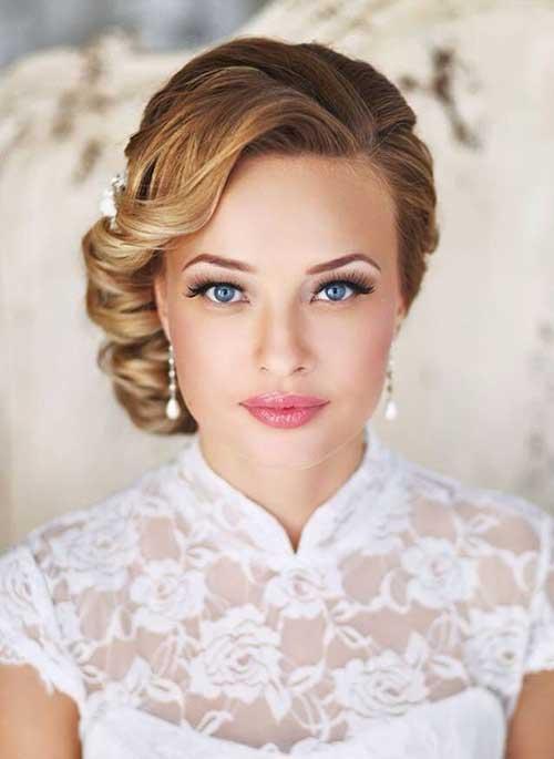 Astounding 30 Best Wedding Bun Hairstyles Everafterguide Hairstyle Inspiration Daily Dogsangcom
