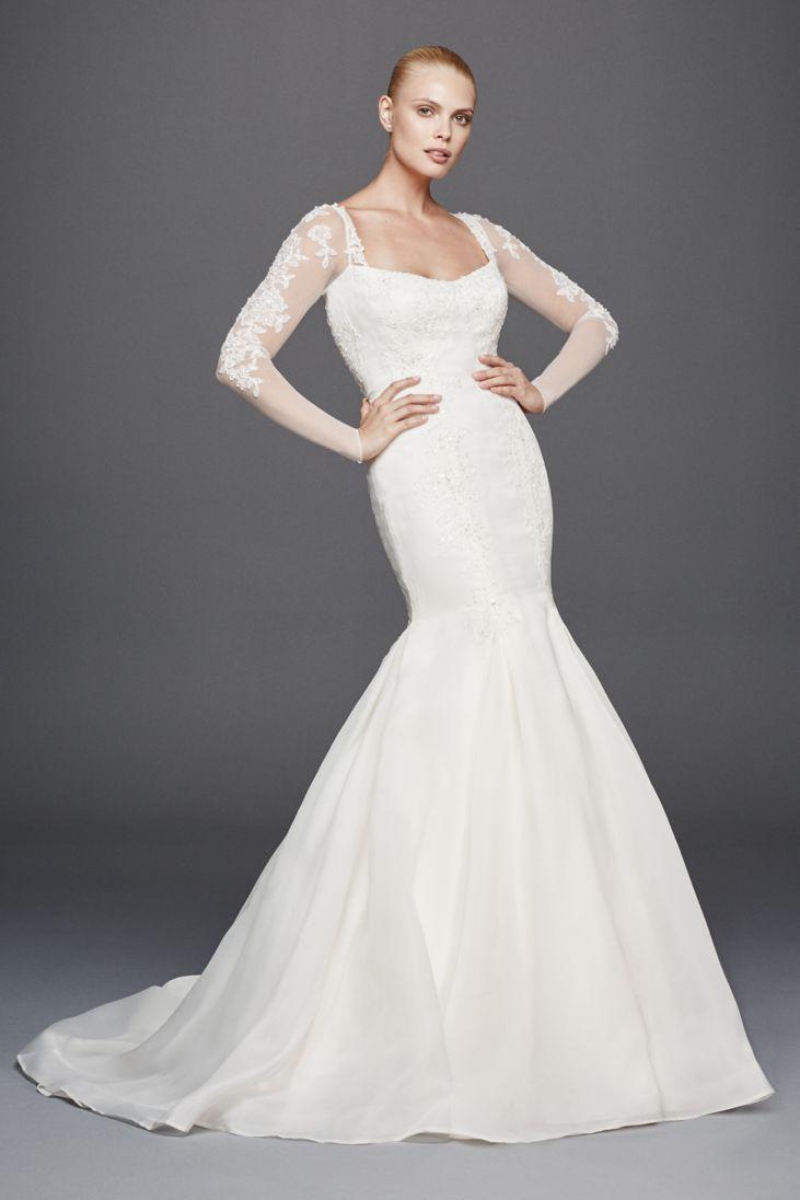 24 best trumpet wedding dresses for our curvy bride