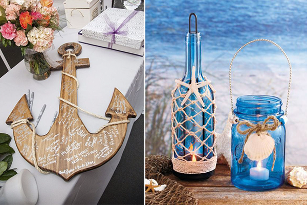 easy and fun beach themed bridal shower ideas