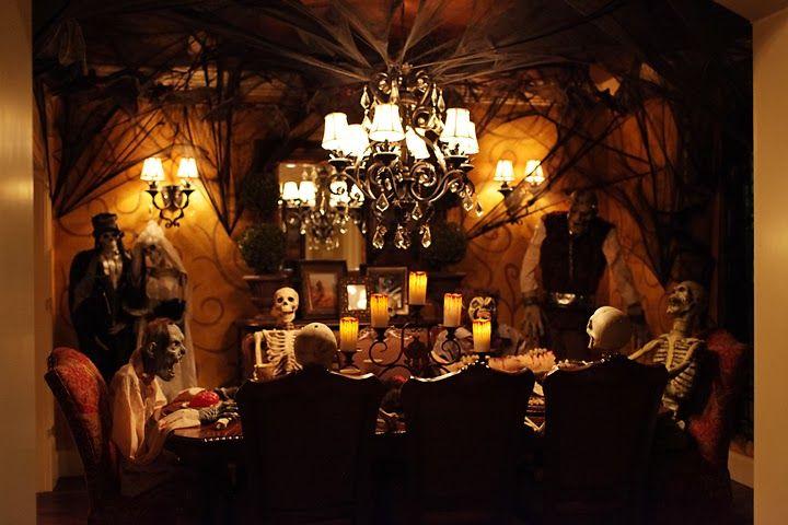 Design Home Halloween Eerie And Elegant