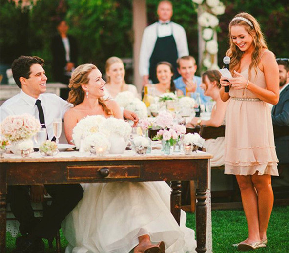 Five Steps To Write A Wedding Toast With Samples