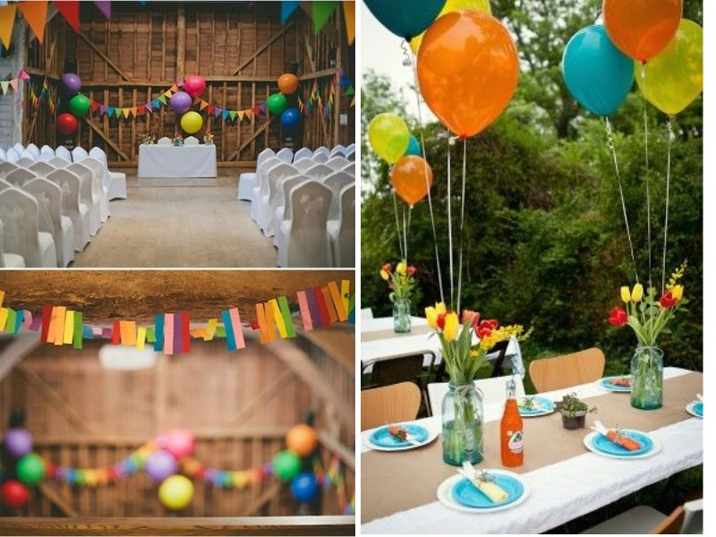 rainbow centerpieces with paint chip numbers. Find this Pin and more on RAINBOW WEDDING TRENDS by Rosie. So a rainbow wedding theme is a lovely. Love how they incorporated paint chip samples for the centerpieces along with.