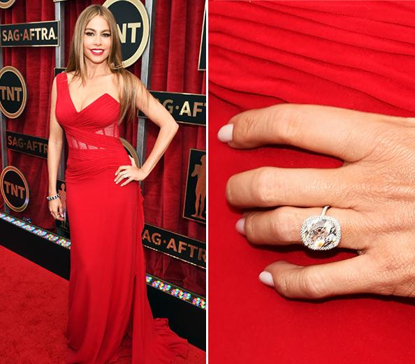 Sofia Vergara Wedding Ring: Sofia Vergara's Engagement Ring And Beautiful Wedding