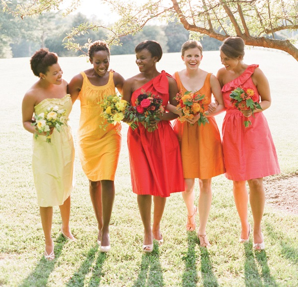 Wedding Gowns For Dark Skin: From Warm Shades To Jewel Tones