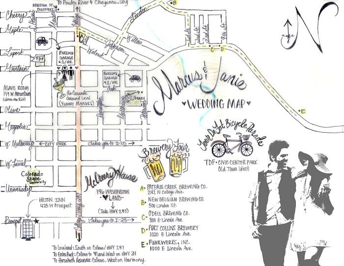 wedding invitation maps creator everafterguide With wedding invitation map creator free