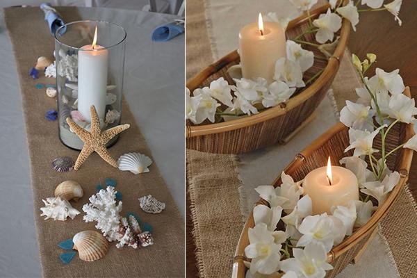 Easy and fun beach themed bridal shower ideas