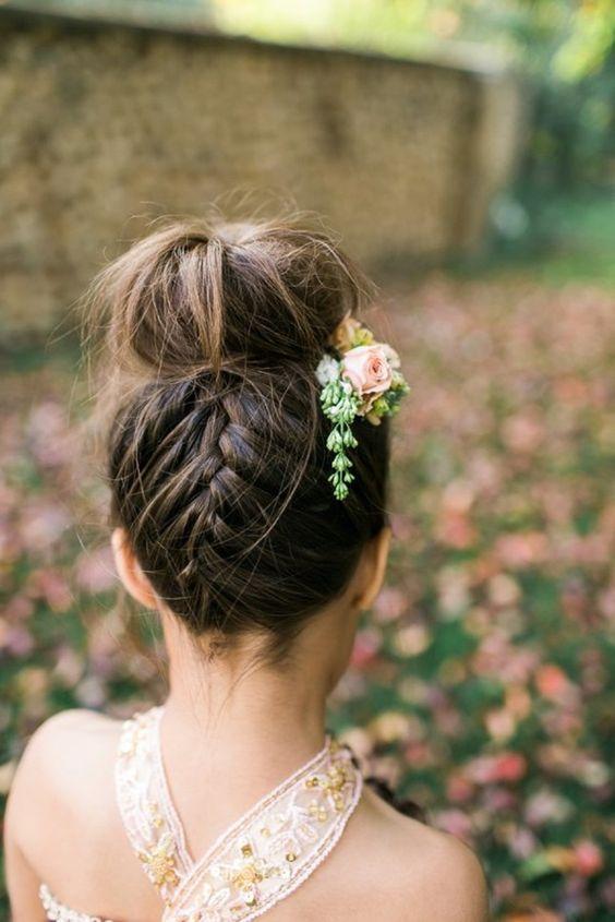Marvelous 30 Best Wedding Bun Hairstyles Everafterguide Short Hairstyles For Black Women Fulllsitofus