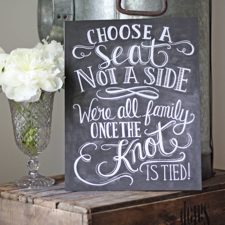 Creative Wedding Signs And Sayings To Delight Your Guests