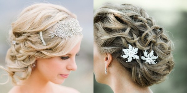 35 Romantic Wedding Updos For Medium Hair: 30 Best Wedding Bun Hairstyles
