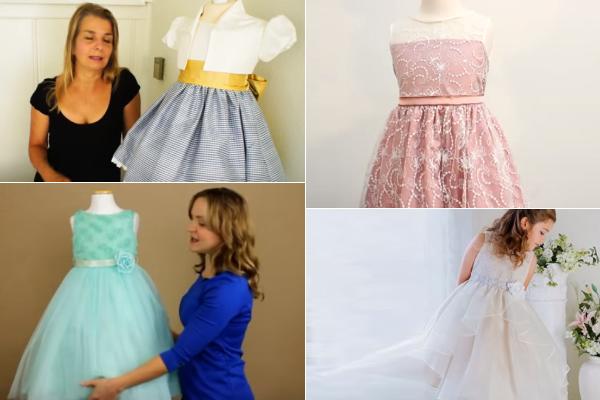 a style dress patterns girl