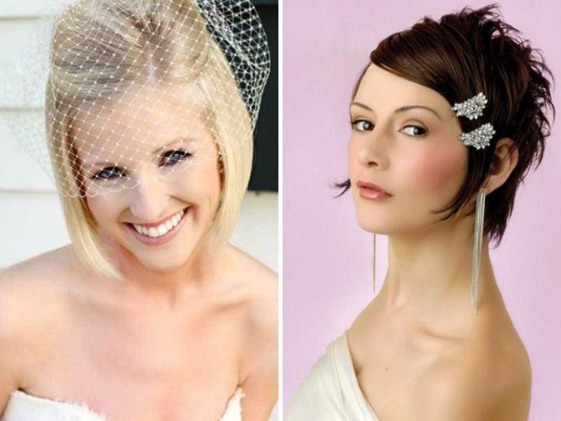 Popular Straight Hairstyles For Your Wedding