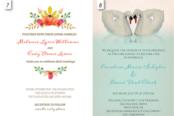 free editable wedding invitation templates | wblqual, Birthday invitations