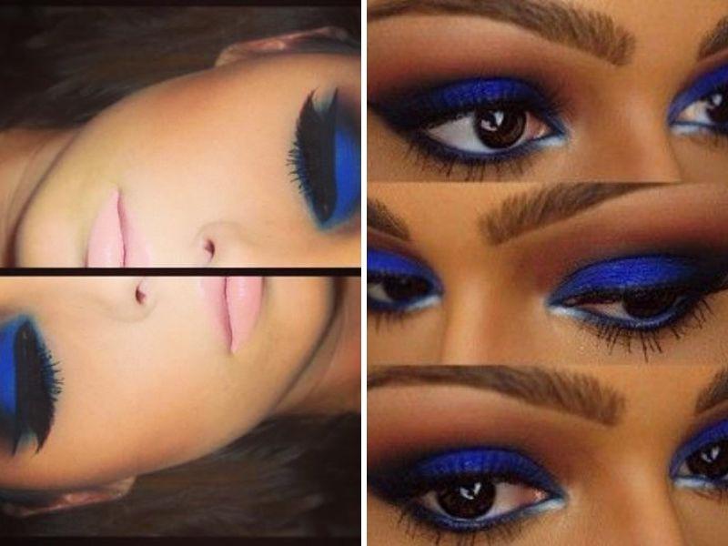 Makeup Tips For Dark Blue Dress - Mugeek Vidalondon