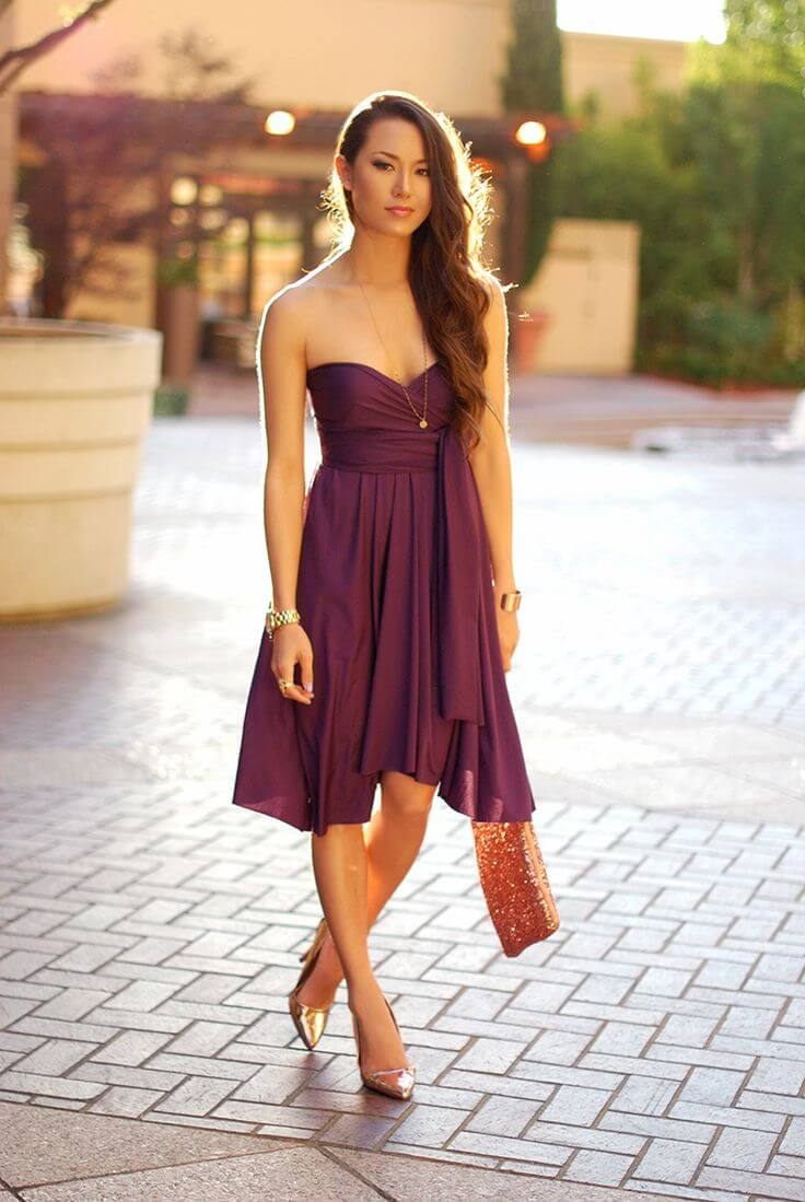 Purple Dress Heels