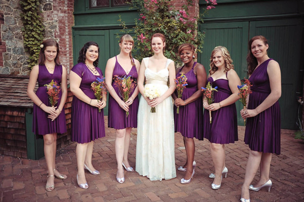 Can You Wear Cream To A Wedding: What Color Shoes To Wear With Purple Dress For Bridesmaids