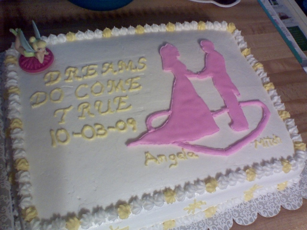 Couples Wedding Shower Cake Wording