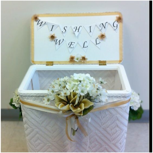 you plan your wishing well bridal shower everafterguide With wedding shower wishing well